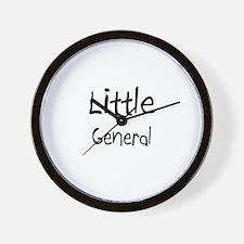 Little General Wall Clock