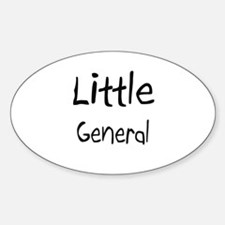 Little General Oval Decal