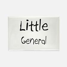 Little General Rectangle Magnet