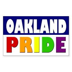 Oakland Pride (bumper sticker)