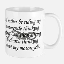 Bike & Church Mug