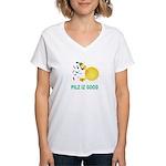 Pilz Is Good Women's V-Neck T-Shirt