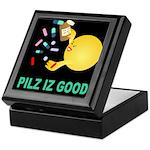 Pilz Is Good Keepsake Box