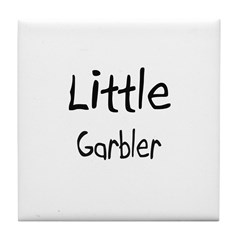 Little Garbler Tile Coaster