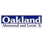 Abnormal Oakland (bumper sticker)