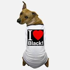 I Love Black Dog T-Shirt