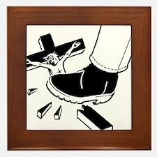 Crush Christianity Framed Tile