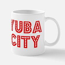 Retro Yuba City (Red) Mug
