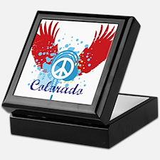 Colorado Peace Keepsake Box
