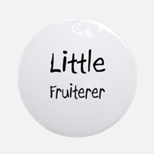 Little Fruiterer Ornament (Round)