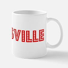 Retro Zanesville (Red) Mug