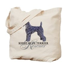 Kerry Blue Rescue Tote Bag