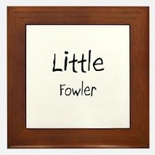 Little Fowler Framed Tile