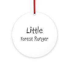 Little Forest Ranger Ornament (Round)
