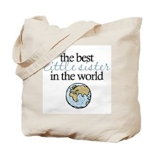 Best Little Sister Tote Bag