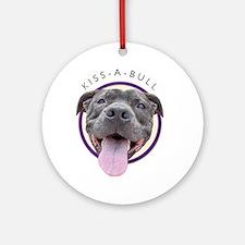 Kiss-A-Bull Keepsake (Round)