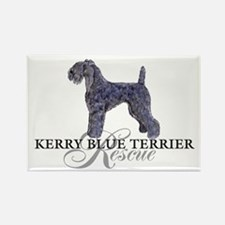 Kerry Blue Rescue Rectangle Magnet