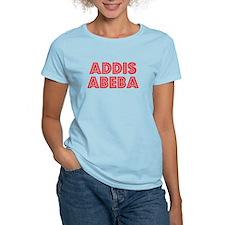 Retro Addis Abeba (Red) T-Shirt