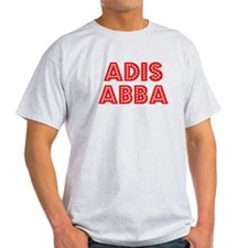 Retro Adis Abba (Red) T-Shirt
