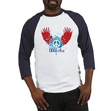 Alaska Peace Baseball Jersey