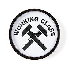 Working Class Wall Clock