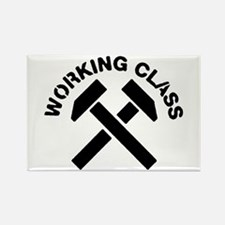 Working Class Rectangle Magnet
