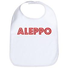 Retro Aleppo (Red) Bib