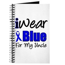 I Wear Blue For My Uncle Journal
