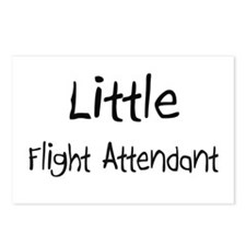 Little Flight Attendant Postcards (Package of 8)