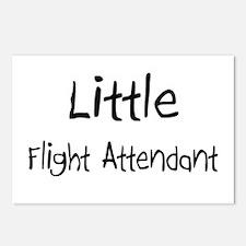 Little Flight Attendant Postcards (Package of 8)