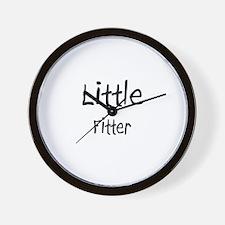 Little Fitter Wall Clock