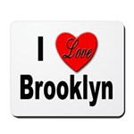 I Love Brooklyn New York Mousepad