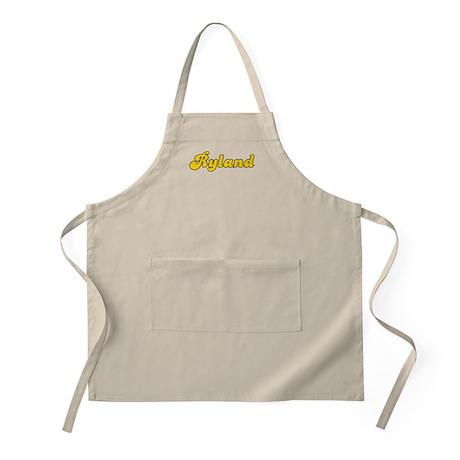 Retro Ryland (Gold) BBQ Apron