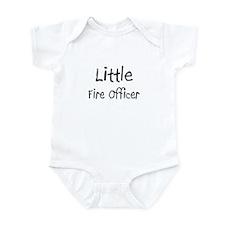 Little Fire Officer Infant Bodysuit