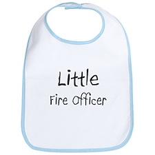 Little Fire Officer Bib