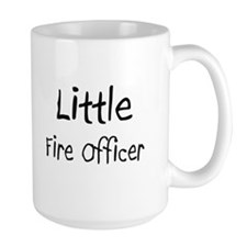 Little Fire Officer Large Mug