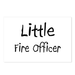 Little Fire Officer Postcards (Package of 8)