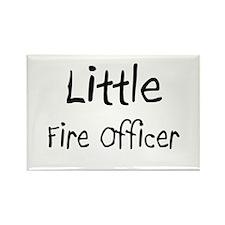 Little Fire Officer Rectangle Magnet