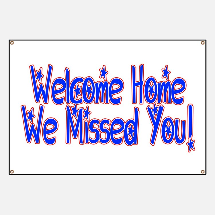 Striking image inside welcome home sign printable