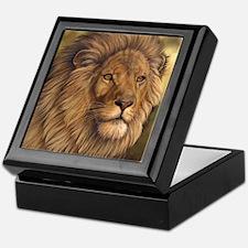 King of Beasts Keepsake Box