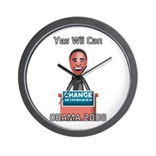 Yes Wii Can Wall Clock
