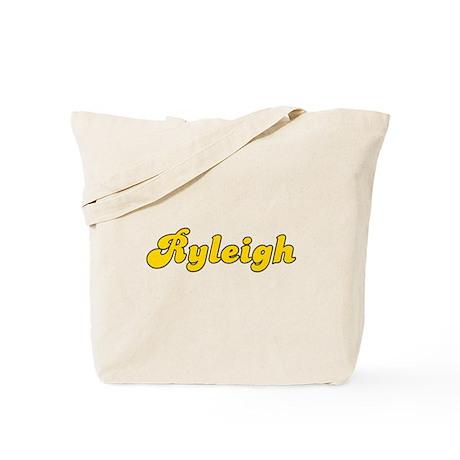 Retro Ryleigh (Gold) Tote Bag