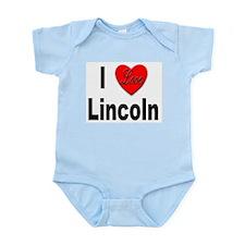 I Love Lincoln Nebraska Infant Creeper