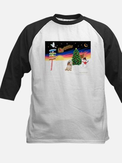 XmasSigns/PBGV #2 Kids Baseball Jersey