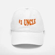 #1 Uncle Baseball Baseball Cap