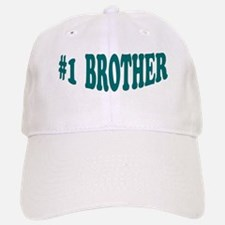 #1 Brother Baseball Baseball Cap