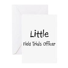 Little Field Trials Officer Greeting Cards (Pk of