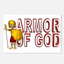 Armor Of God Postcards (Package of 8)