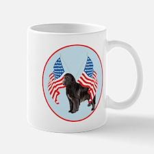 Newf with Flag Mug