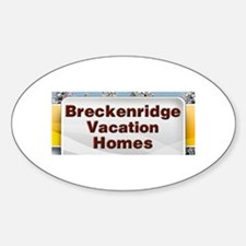 Breckenridge Lodging Oval Decal